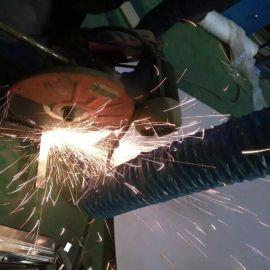 达科DEC管径160mmx10m 阻燃耐磨柔性吸气臂软管/外管