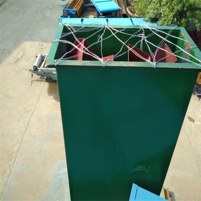 NE板链块状物流用垂直斗式提升机LJ8
