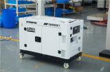 公司應急靜音10千瓦無刷柴油發電機