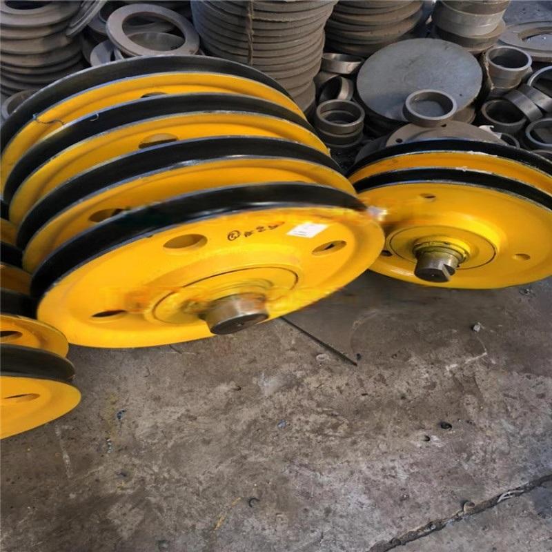 生产定制轧制滑轮组 双梁吊钩滑轮片生产优质滑轮组