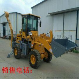 园林建设挖掘装载两头忙 山东挖掘装载机