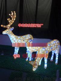 梦幻灯光节翅膀造型灯 墙体艺术图案灯滴胶动物造型灯