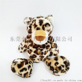 定制毛绒玩具可来图打样设计动物老虎公仔
