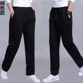 运动裤直筒休闲裤子男装长裤 拉架速干休闲运动弹力裤