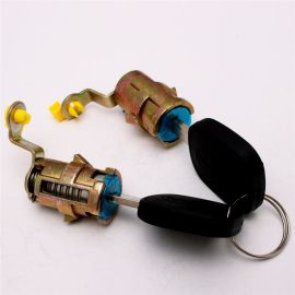 工程车卡车门锁 安全镀五彩锁芯 定制批发锁匠用品工具