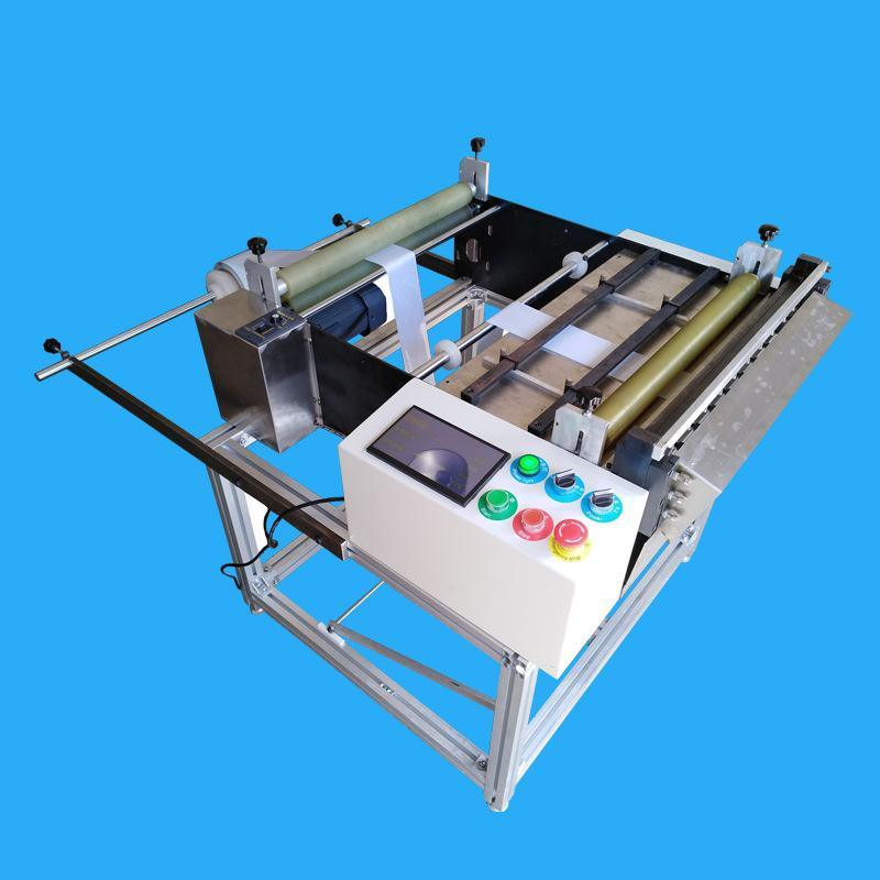 60无纺布放卷裁切一体机自动送料自动裁切一体机高效快速厂家直销