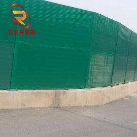 广州东莞镀锌板彩钢板隔音屏障/道路金属立柱