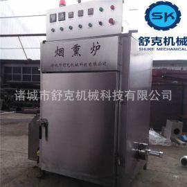 中小型豆干烘烤箱现货 烤肠烟熏炉设备 制作厂家
