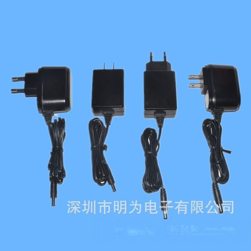 厂家生产销售12W认证电源 12VDC直流适配器