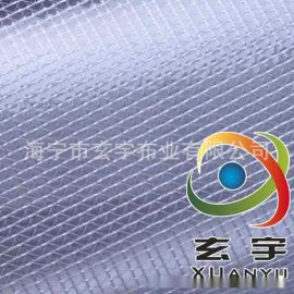1.52米PVC透明夹网布 PVC透明网格布