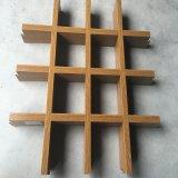 番禺鋁天花生產基地供應木紋鋁格柵天花吊頂 白色/黑色鋁格柵天花