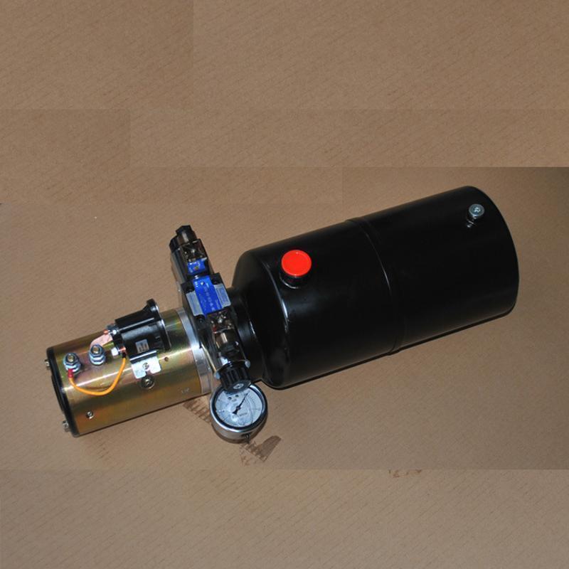 24V2.2KW電機-3.2CC-8L-1組雙作用動力單元帶壓力錶