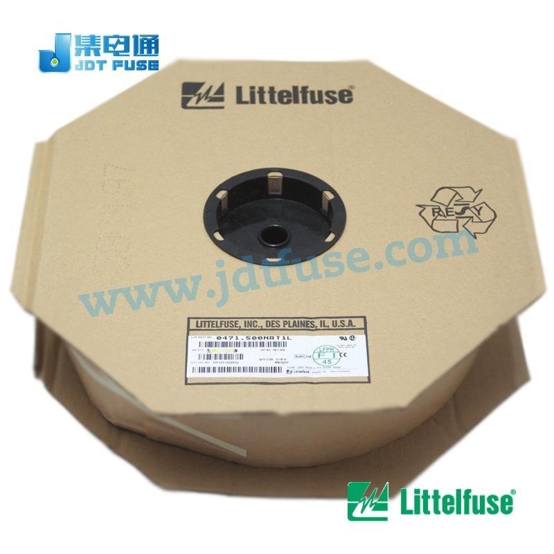0471.500NRT1L力特代理商商0.5A125V电阻式保险丝