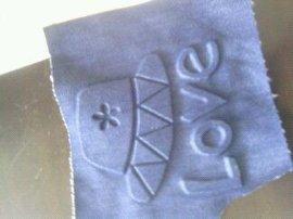 自然干牛仔布填充定型硅胶