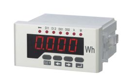 生产厂家120*120单相有功数显电能表 单相电能仪表 高精度数显表