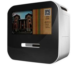高清1920*1080P微信打印机/微信粉丝机/微信照片打印一体机