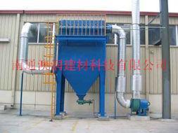 HMC单机袋式除尘器+袋式除尘器是一种干式滤尘装置