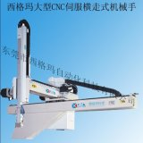 东莞工业机械手丨注塑机专用机械手丨单轴伺服大型横走式机械手