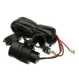 厂家直销车载充电器原理摩托车防水点烟器/高......