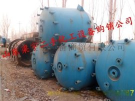 二手5吨5立方500升不锈钢反应釜价格