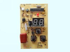 LED数码显示器热水器控制板PCB电路板线路板电子产品设计