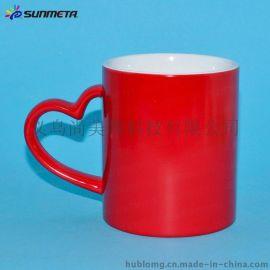 变色马克杯 陶瓷变色杯 情侣变色杯 个性变色杯 热转印变色杯 瓷马克杯 个性马克杯
