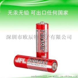 无**环保5号碳性干电池 lr06P