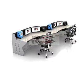盛视作战指挥中心操作台 人体工程学控制台