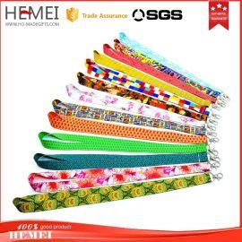 工厂定做织带丝印厂牌挂带手机绳热转印吊带奖牌挂绳