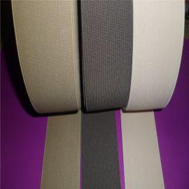 生产高弹力涤纶彩色玉米纹条纹松紧带