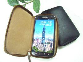 手机包(三星N7100 Galaxy Note2真皮包)