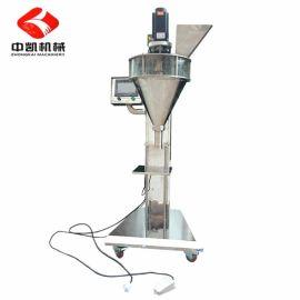 广州中凯批量供应粉剂、粉体灌装机 半自动500-1000g咖啡粉灌装机