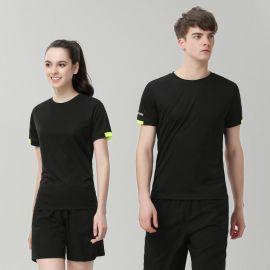 圆领POLO文化衫定做夏天户外T恤企业公司工衣工作服装定制印LOGO