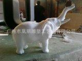 定制泡沫雕塑 装饰摆件 圣诞老人卡通雕塑泡沫雕塑