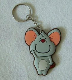 pvc鑰匙扣定制 滴膠鑰匙扣 硅膠鑰匙扣