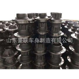 陕汽 H6000 德龙 汉德桥总成 汉德桥轮毂 厂家 图片3104011-4ED3