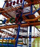 儿童户外绳网攀爬 大型体能训练游乐场 淘气堡拓展设备 游乐设备