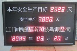 年度目标计划生产牌  安全生产牌  数码管时间显示屏 工厂车间牌