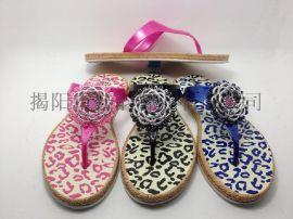 厂家直销女款创意花纹拖鞋