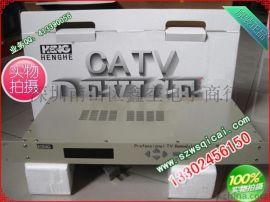 恒河F117D全频道捷变型解调器 有线电视解调器 射频信号转为视频