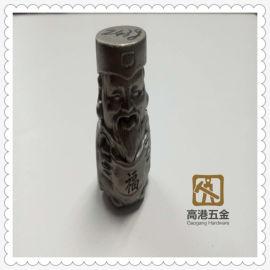 現代中式家居擺飾 不鏽鋼工藝品 福祿壽古玩配飾
