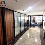 聊城办公室百叶帘玻璃隔断墙组合设计空间
