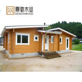 预装配房屋 木制农村自建房组装可移动加拿大木屋