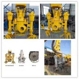 聊城液压绞吸渣浆泵 环保治理专用矿渣泵 液压耐磨排浆泵