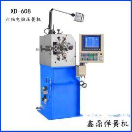六轴08型弹簧机_XD-608电脑压簧机