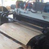 桉木旋切机,数控旋切裁板一体机,刨板机尾板齐边一体机