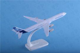 空客A340-600原型涂装合金飞机模型20cm航模航空模型