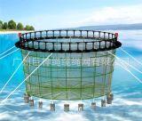 離岸半潛式養殖平臺offshore fish farm深海漁場養殖網箱圓形網箱海上養殖網箱