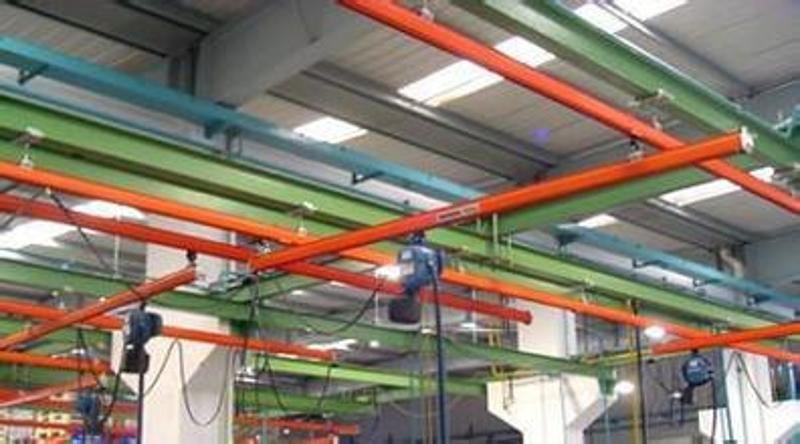 生产KBK轻型轨道起重机 柔性单梁起重机