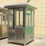 西安製作商大量製作不鏽鋼保安室崗亭公司地址